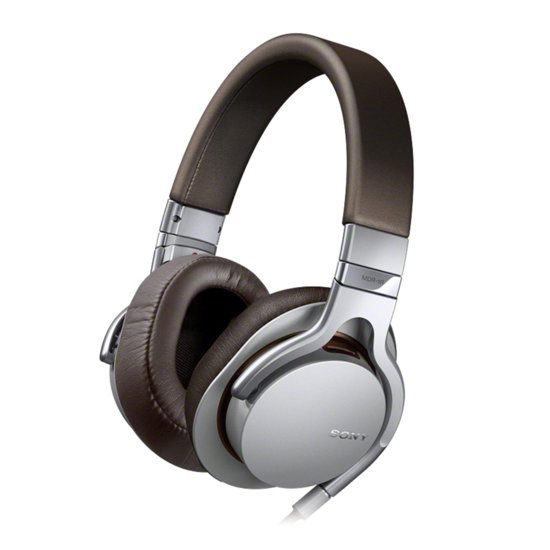 Sony MDR-1RS - Over-ear koptelefoon - Zilver