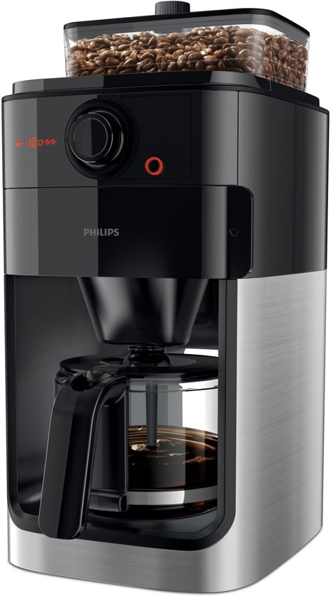 philips grind brew hd7765 00 koffiezetapparaat. Black Bedroom Furniture Sets. Home Design Ideas