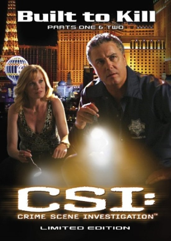 CSI: Crime Scene Investigation - Special: Built To Kill (Limited Edition)