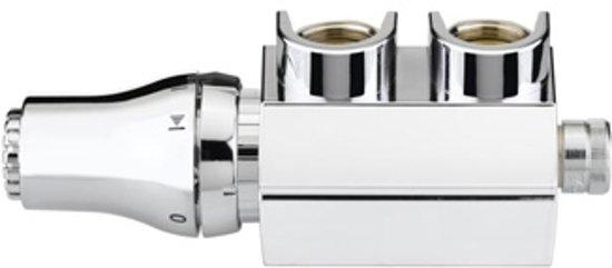 Plieger Cavallino Retto Designradiator verticaal enkel 1800x298mm 614 watt mat wit in Kortenoord