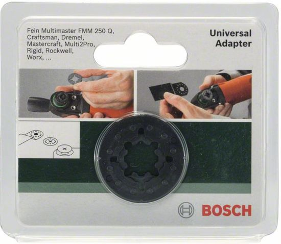 bosch pmf adapter geschikt voor de fein multimaster multitool klussen. Black Bedroom Furniture Sets. Home Design Ideas