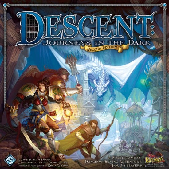 Descent - Journeys In The Dark 2nd Edition in Wenum Wiesel