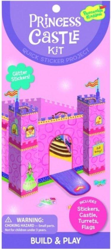Peaceable Kingdom Sticker Kit Prinsessenkasteel in Hallerhoek