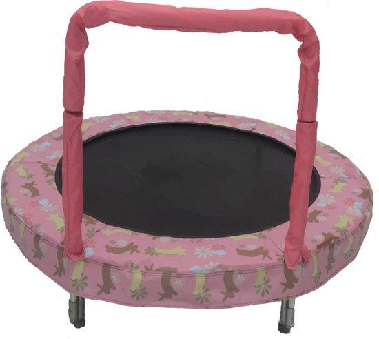mini kinder trampoline konijn. Black Bedroom Furniture Sets. Home Design Ideas