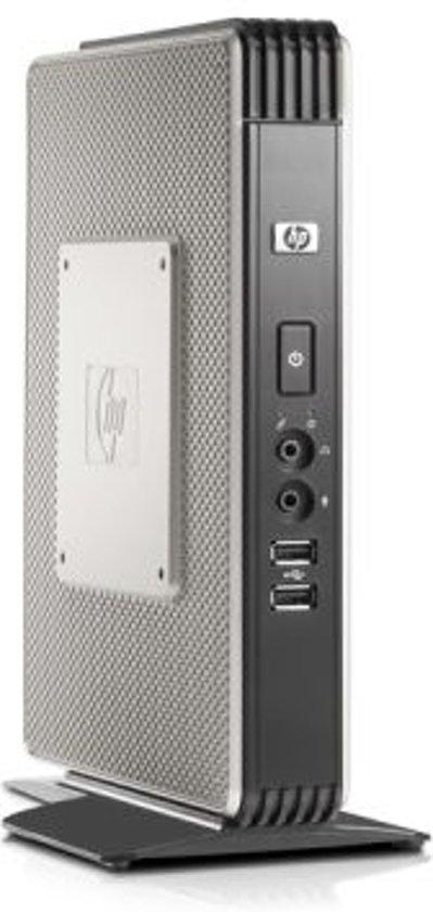 HP Compaq Thin Client t5730w - Tower - 1 x Sempron 2100+ / 1 GHz - RAM 1 GB - no HDD - Radeon X1250 - Gigabit Ethernet - Win XP Embedded - Monitor : none