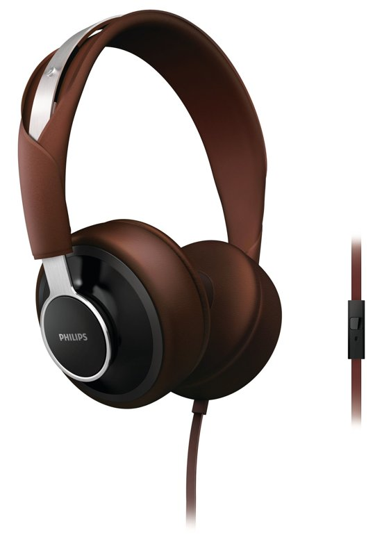 Philips CitiScape SHL5605BK - On-ear koptelefoon - Bruin