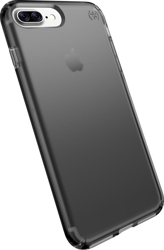 speck presidio hoesje voor iphone 7 plus transparant mat zwart. Black Bedroom Furniture Sets. Home Design Ideas