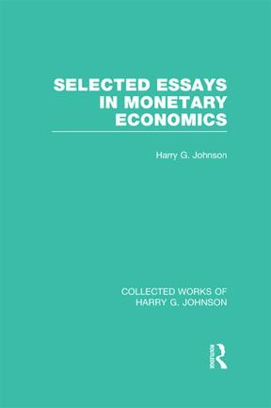 selected essay