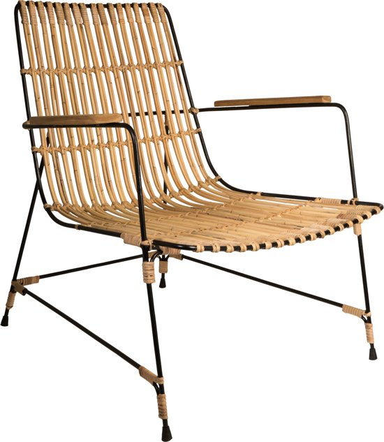 Dutchbone kubu stoel rotan met armleuning wonen - Stoel herbergt s werelds ...