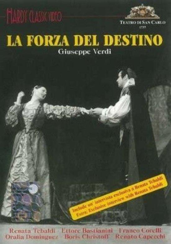 Napoli 1958 La Forza Del Destino - Renata Tebaldi, Franco Corelli, Bas
