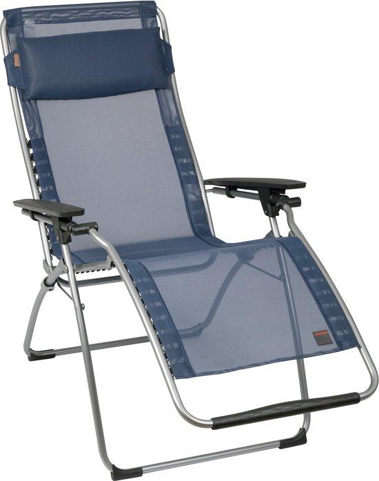 Kamperen vandaag speciale lafuma futura comfort vouwstoel grijs blauw - Mobilier afneembaar ...