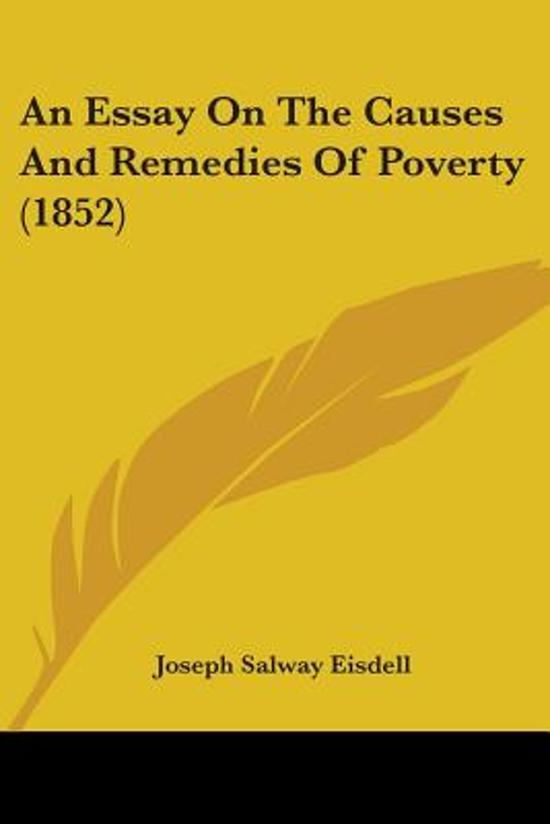 Poverty In The World Essay