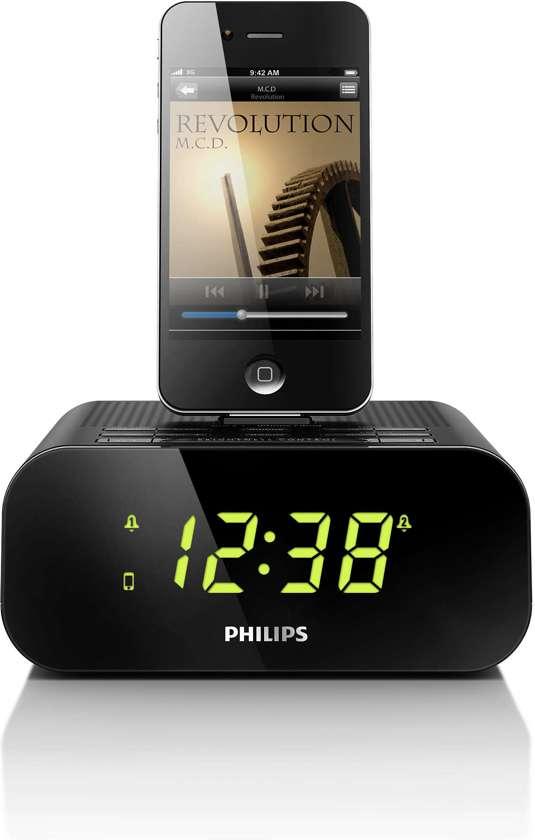 Philips AJ3270D - Klokradio met Dockingstation