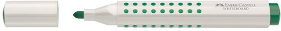 whiteboardmarker Faber Castell GRIP ronde punt groen in Houtain-le-Val