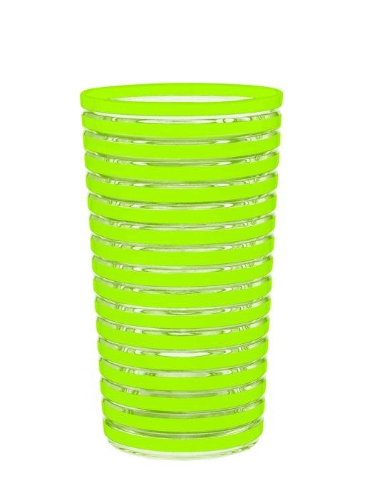 zak designs swirl drinkbeker 36 cl groen. Black Bedroom Furniture Sets. Home Design Ideas