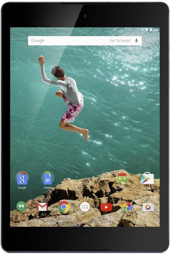 HTC Nexus 9 - 16GB - Zwart - Tablet