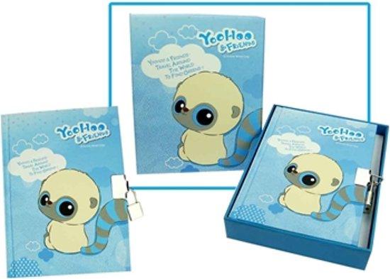 Yoohoo geheimenboekje met slot blauw in Lebbeke