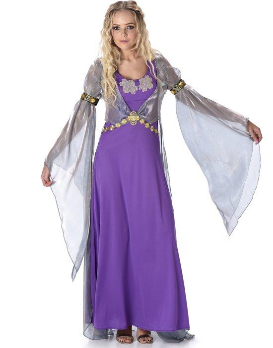 Paars middeleeuws prinsessen kostuum voor vrouwen - Verkleedkleding - Large in Villers-le-Bouillet
