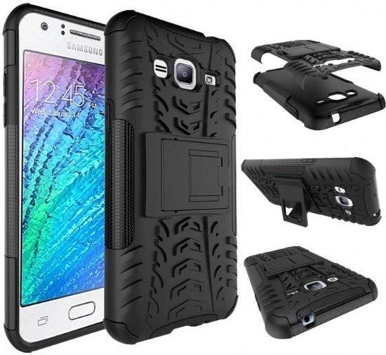 Bol Com Samsung Galaxy J3 2016 Hoesje Rugged Hybrid