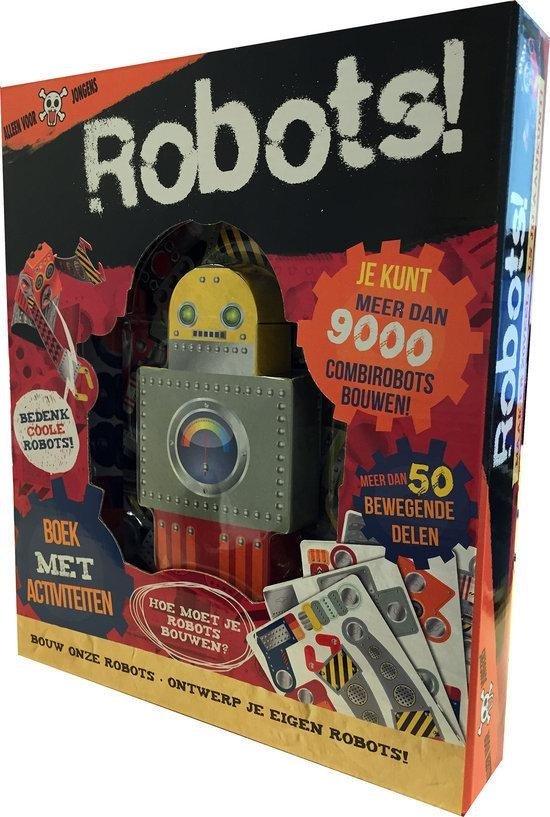 Robots bouw en ontwerp je eigen robot niet for Ontwerp je eigen kantoor