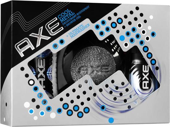 Axe Cool Metal - 3 delig - Geschenkset
