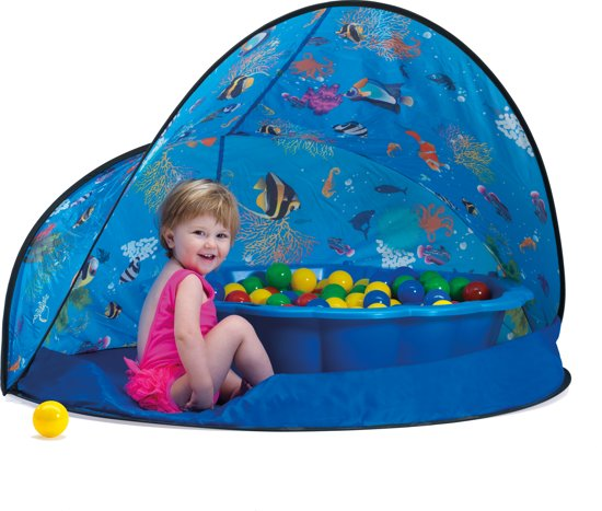 Paradiso Toys Ballenbak met Tent in Dinant