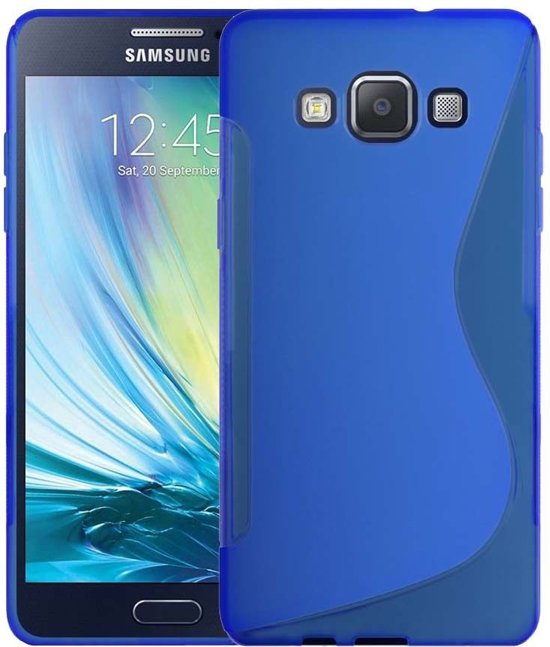 comutter silicone hoesje samsung galaxy a5 blauw. Black Bedroom Furniture Sets. Home Design Ideas