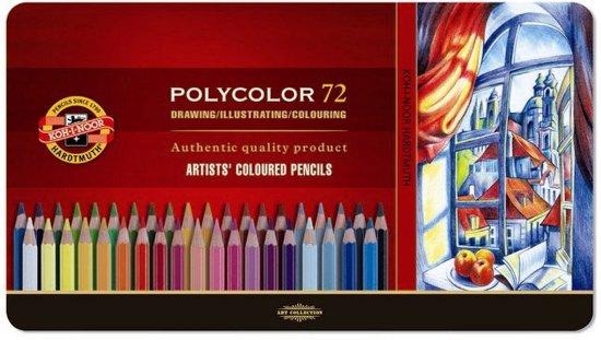 Koh-I-Noor Polycolor 72 kleurpotloden in Vance