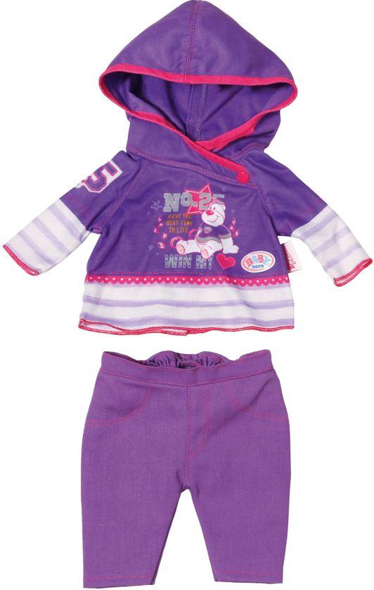 BABY born Casual Paars - Poppenkleertjes in Hornhuizen