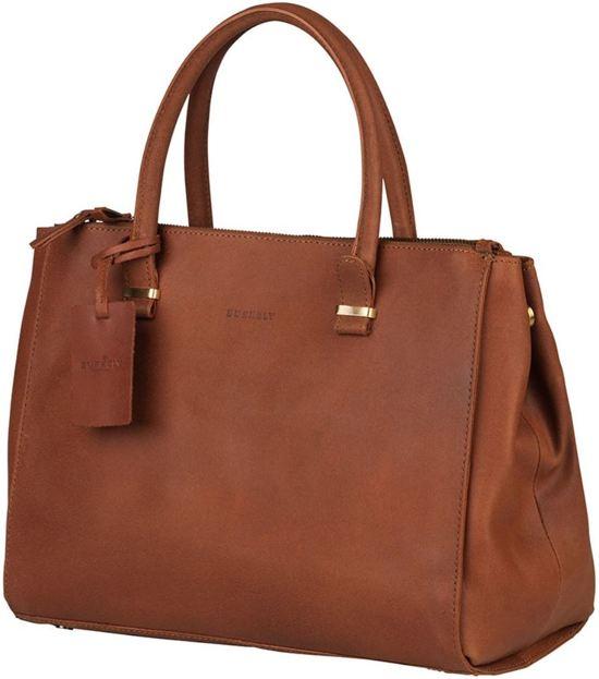 Burkely Leren Laptop Tas Dames Cognac : Bol burkely vintage wieske zipper schoudertas