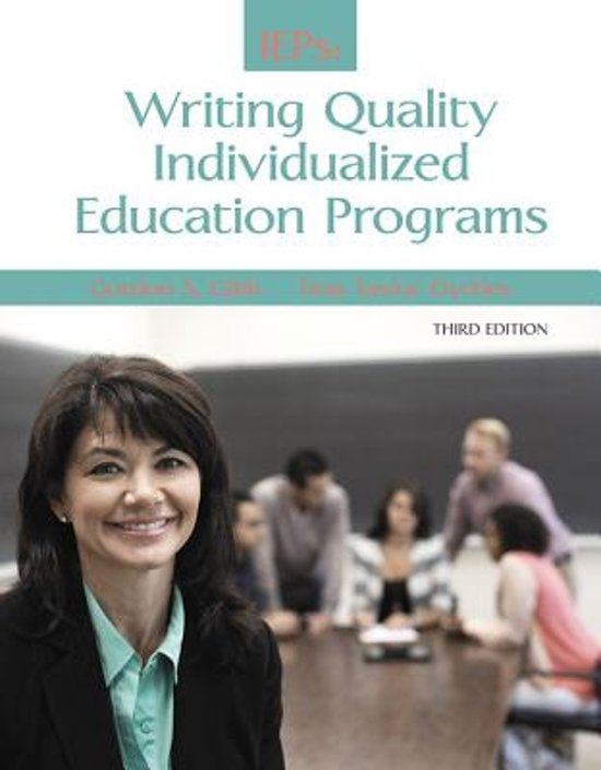 Quality individualized educational programs essay