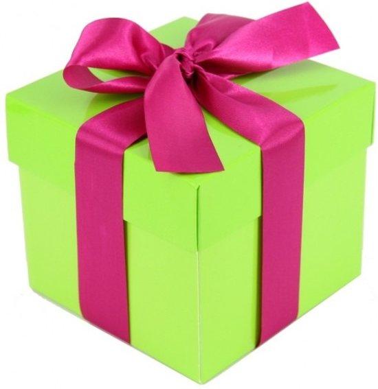 bol.com : Lime groene decoratie kadootjes 10 cm : Speelgoed
