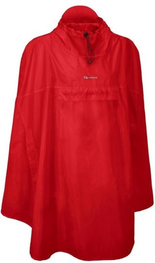Gonso Poncho Ambato V2 Heren Rood Maat Xl in Heppignies