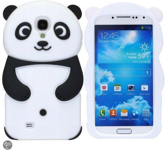 Panda 3D Siliconen Hoesje Samsung Galaxy S4