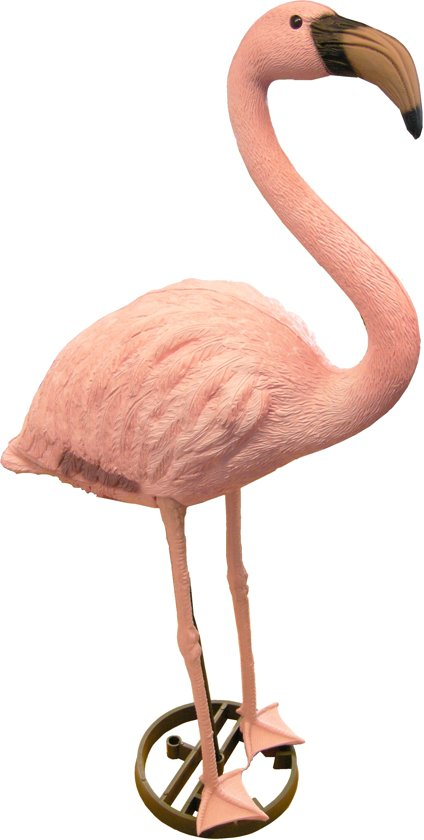 ubbink dierfiguur flamingo hoogte 90cm roze. Black Bedroom Furniture Sets. Home Design Ideas