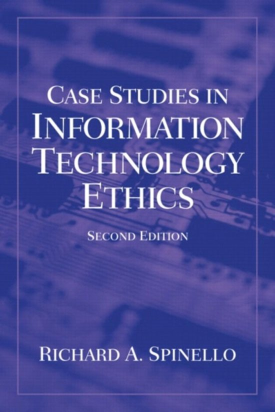 information technology case studies ethics