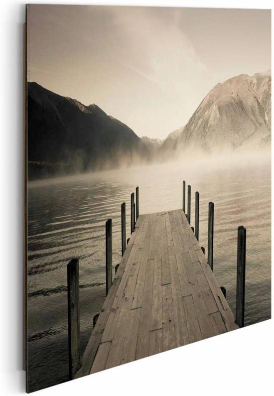 Reinders schilderij jetty lake rotoiti deco panel 50 x 40 cm no 20939 - Deco schilderij slaapkamer kind ...