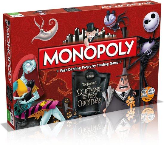 Monopoly Nightmare Before Christmas in Spaarndam