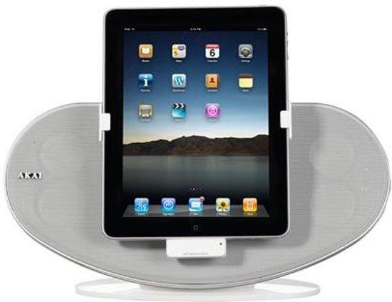 Akai ASB12WE - Docking station voor iPod, iPhone en iPad - Wit