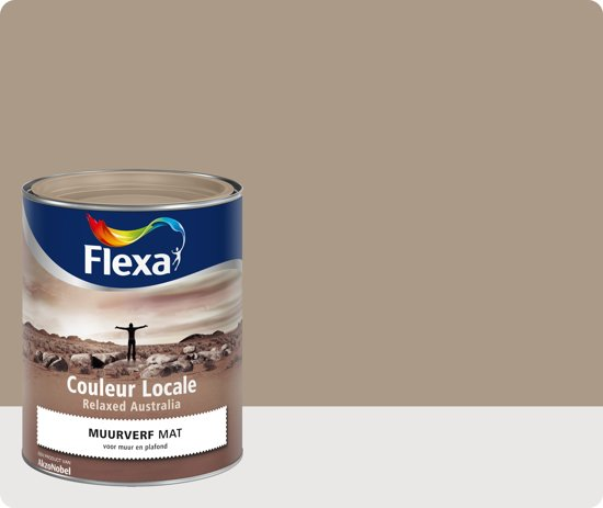 Flexa Couleur Locale - Muurverf Mat - Relaxed Australia Desert - 6515 ...