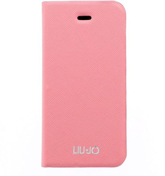 bol.com : Liu Jo Saffiano iPhone 5 / 5S Bookcase Pink : Elektronica