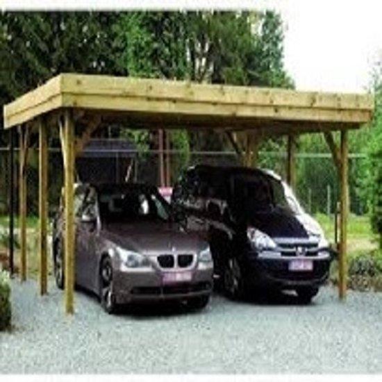 carport dubbel 6 x 5 meter vrije overspanning 6 meter. Black Bedroom Furniture Sets. Home Design Ideas