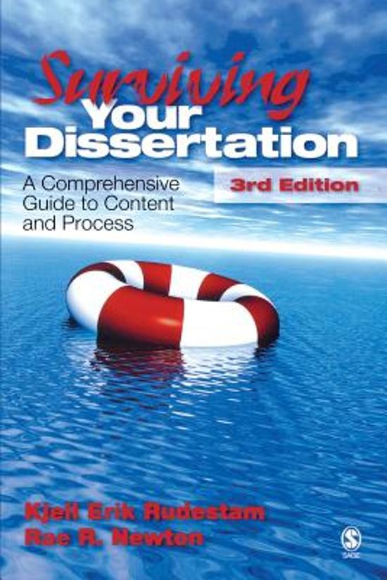 rudestam surviving your dissertation