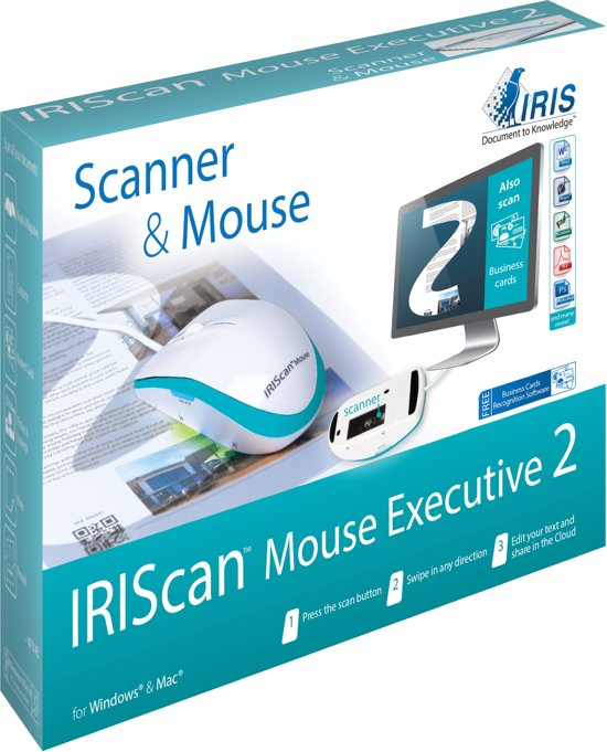 IRISCan Mouse 2 - All-in-1 Scanner & Muis