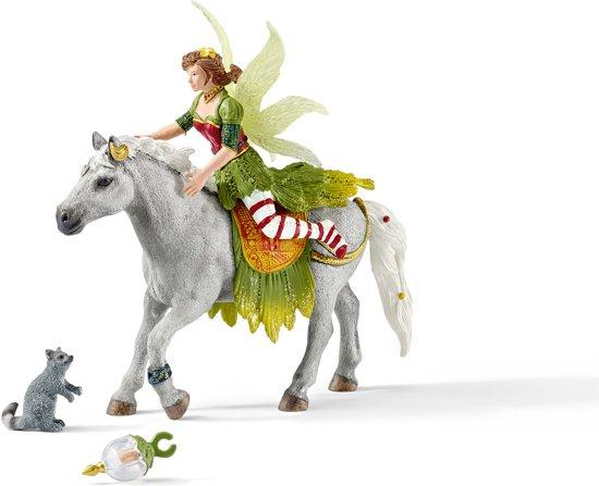 Marween in feestjurk te paard Schleich 70517 in De Jouwer