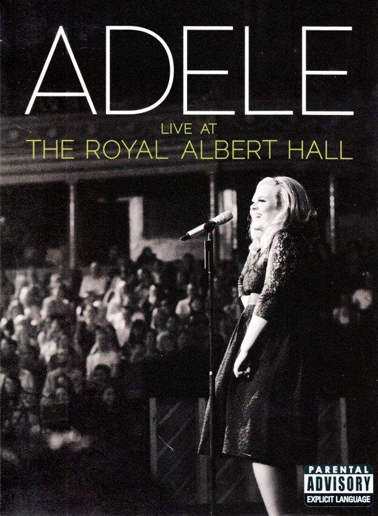 adele live at the royal albert hall dvd cd adele. Black Bedroom Furniture Sets. Home Design Ideas