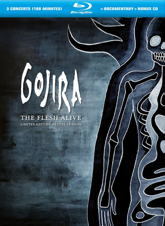Gojira - The Flesh Alive (Deluxe Version) (2Blu-ray+1Cd)
