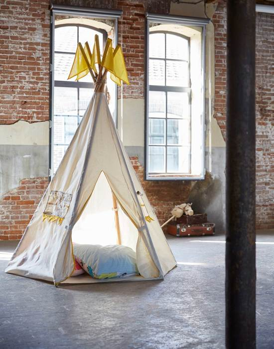 Covers & Co North Pole - Tipi tent - 158 x 210 - Ecru in Koekelberg