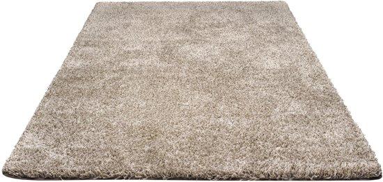Hoogpolig vloerkleed hamat saba donker grijs for Ecksofa 240 x 240