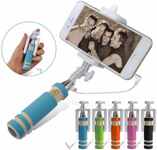 selfie stick voor smartphone licht gewicht voor samsung iphone htc apple. Black Bedroom Furniture Sets. Home Design Ideas